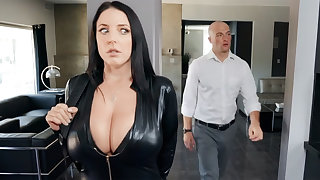 Busty cat burglar ride dick for diamond