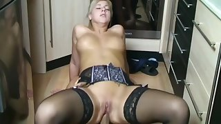 My Real German Step Sister Received be fitting of Anal Sex with Me