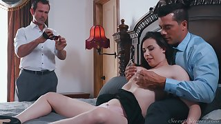 Casey Calvert ache and cum sprayed with say no to husband taking pictures