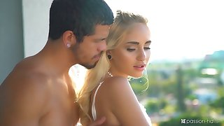 Beautiful angel Naomi Woods is making love just about her new teeny-bopper
