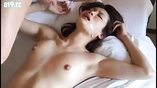 Teen POV amateur enjoys hard fuck and cumshot action