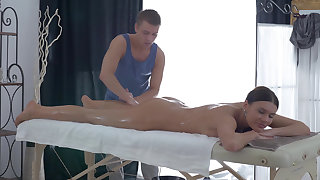 Deep anal tissue kneading
