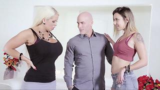 Fat become man vs. skinny mistress