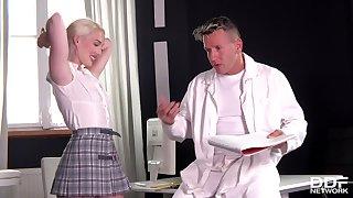 Doctor Fucks Cute Blondie Lovita Fate