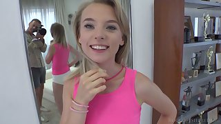 For detail Ukrainian infant Lily Ray gives a rimjob and footjob to her sex partner