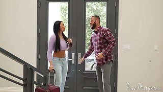 Red-letter and passionate anal sex enjoyment with bodacious French goddess Anissa Kate