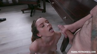 Croak review some hard dicking, Lily Glee loves to get a face abounding in cum