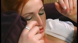 Smutty pornstar in sexy nylon stockings gets her natural Bristols squeezed for ages c in depth being slammed hardcore anal
