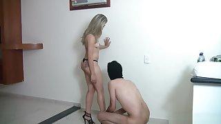Adjacent camera nude surprise