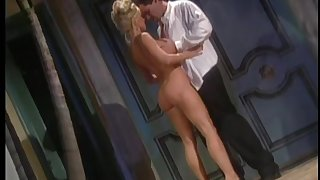Silvia Saint likes to mix it up and loves getting her tits masked give cum