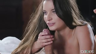 Horny girlfriend Anita Berlusconi loves to be fucked in get under one's morning